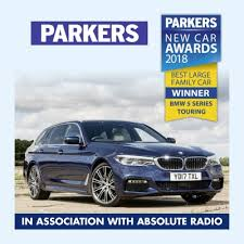 parkers bmw 5 series parkers co uk awards toyota c hr car of the year 2018