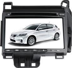 lexus ct200 white 7 inch touchscreen monitor car dvd player for lexus ct200h gps