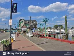 Freeport The Nautical Mile Area Of Freeport Long Island Ny Stock Photo