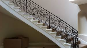 lovely iron stairs design ornamental wrought iron stair railings