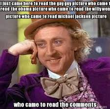 Gay Guy Memes - meme creator i just came here to read the gay guy picture who came