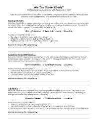 Professional Competencies Resume Develop Your Professional Competencies Career And Professional
