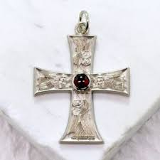 crosses for sale antiochian orthodox cross sterling silver baptism cross