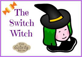 Halloween Witch Poem Switch Witch