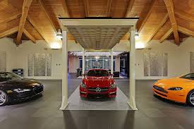 garage home modern home design seen from a fancy car addicted who has a 16 car