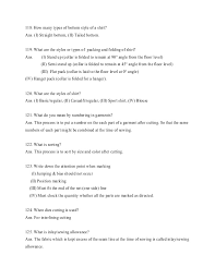 job viva interview questions for textile engineers