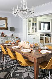 Fall Dining Room Table Decorating Ideas And Thanksgiving Decorations For The Dining Room