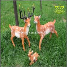 animaux resine jardin grande peinture en plein air statue de cerf porte musc parc moose