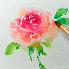 best 25 watercolor rose ideas on painting flowers rose doodle and water color how to