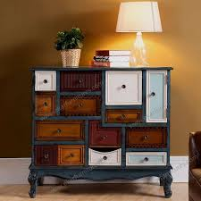 reclaimed wood furniture colorful design painted sideboard r from