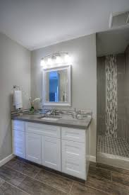 bathrooms design accent floor tile blue border tiles for
