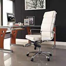 Small Leather Desk Chair Articles With White Leather Desk Chair No Arms Tag Office Chair