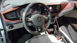 polo volkswagen interior volkswagen polo the new quasi golf american car brands