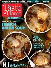 home magazine taste of home easy delicious recipes discountmags com