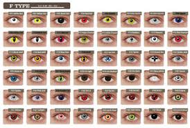 korea color contact lens halloween funny flag iris buy