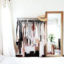 Clothes Rack Bedroom Clothes Racks Make Functional And Beautiful