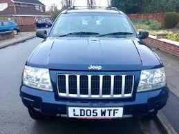tiffany blue jeep grand cherokee jeep grand cherokee 2 7 crd xs 4x4 5dr 2 399 great condition