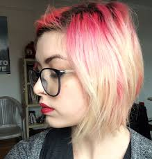 creating roots on blonde hair diy toner with manic panic ultra violet my darling clementine