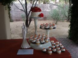 Cupcake Wedding Cake Cakes On The Move Las Vegas Specialty Cakes