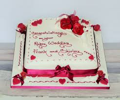 ruby wedding cakes wedding anniversary cake recipe wedding anniversary cakes