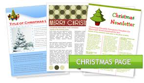 templates for word newsletters microsoft holiday templates worddraw free holiday newsletter