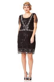 us20 uk24 aus24 eu52 eva black plus size dress vintage inspired