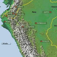 Amazon Rainforest Map Ecosystems In Peru Nature And Culture International