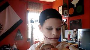 here u0027s how to do jeff the killer u0027s make up just putting it out