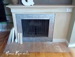 ideas splendid travertine tile fireplace hearth endearing