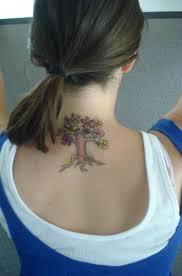 19 attractive tree neck tattoos