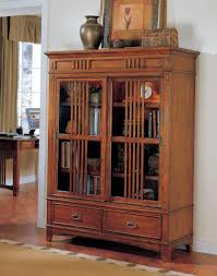 Bookcase With Sliding Glass Doors by Furniture Mesmerezing Bookcases With Glass Doors Give A Stunning