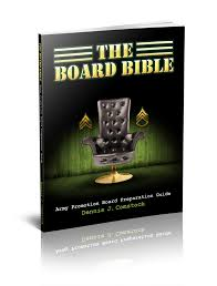promotion board biography army board guidance