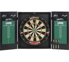 Dart Board Cabinet Plans Buy Unicorn Original Dartboard Cabinet And Darts At Argos Co Uk