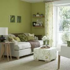 green livingroom spring green living room