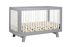 Convertable Crib by Babyletto Hudson 3 In 1 Convertible Crib With Toddler Rail U2013 Lusso