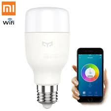 xiaomi mi yeelight e27 smart light bulb wireless wi fi led bulb