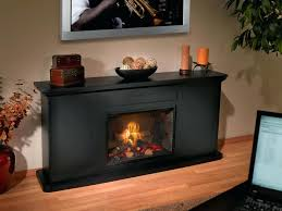 inch curved electric space heater built recessed firebox fireplace
