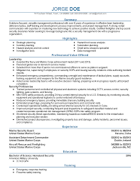 Army Infantry Resume Examples by Marine Infantry Resume Resume For Your Job Application