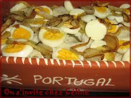 recette de cuisine portugaise bacalhau à gomes de sà morue de mr gomes de sà on s invite chez