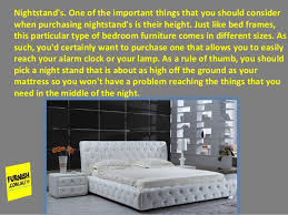 Basic Information To Consider When Purchasing Different Types Of Bed - Bedroom furniture types