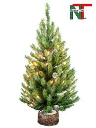 artificial christmas trees cascade crystal 30 in