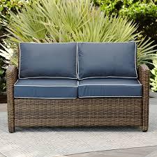 Wicker Settee Cushion Set Wicker Patio Sofas U0026 Loveseats You U0027ll Love Wayfair