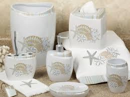 relaxing seashell bathroom accessories u2014 office and bedroom