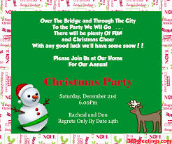 deluxe style christmas party invitations ideas with green