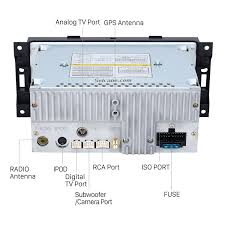 radio gps dvd player for 2002 2007 jeep grand cherokee liberty