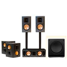 klipsch reference home theater system standard home cinema system indoor 5 1 rb 51 ii klipsch
