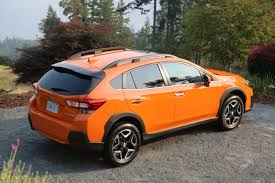 red subaru crosstrek 2018 subaru crosstrek review autoguide com news