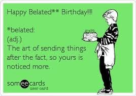 E Card Memes - ecard belated birthday christina adele