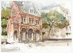 hudson valley sketches color comp studies pinterest hudson