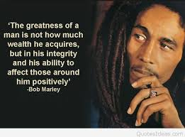 bob marley positive quote